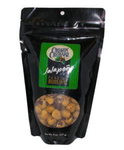 Oregon Orchard Jalapeno Premium Hazelnuts, 8 oz
