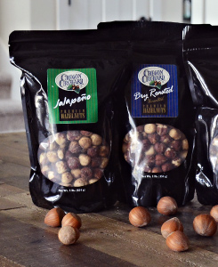 Seasoned Hazelnuts