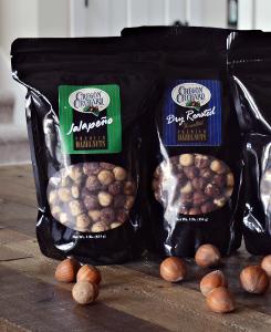 Seasoned Hazelnuts