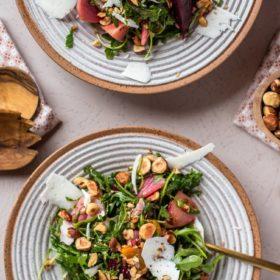 Hazelnut and Beet Salad