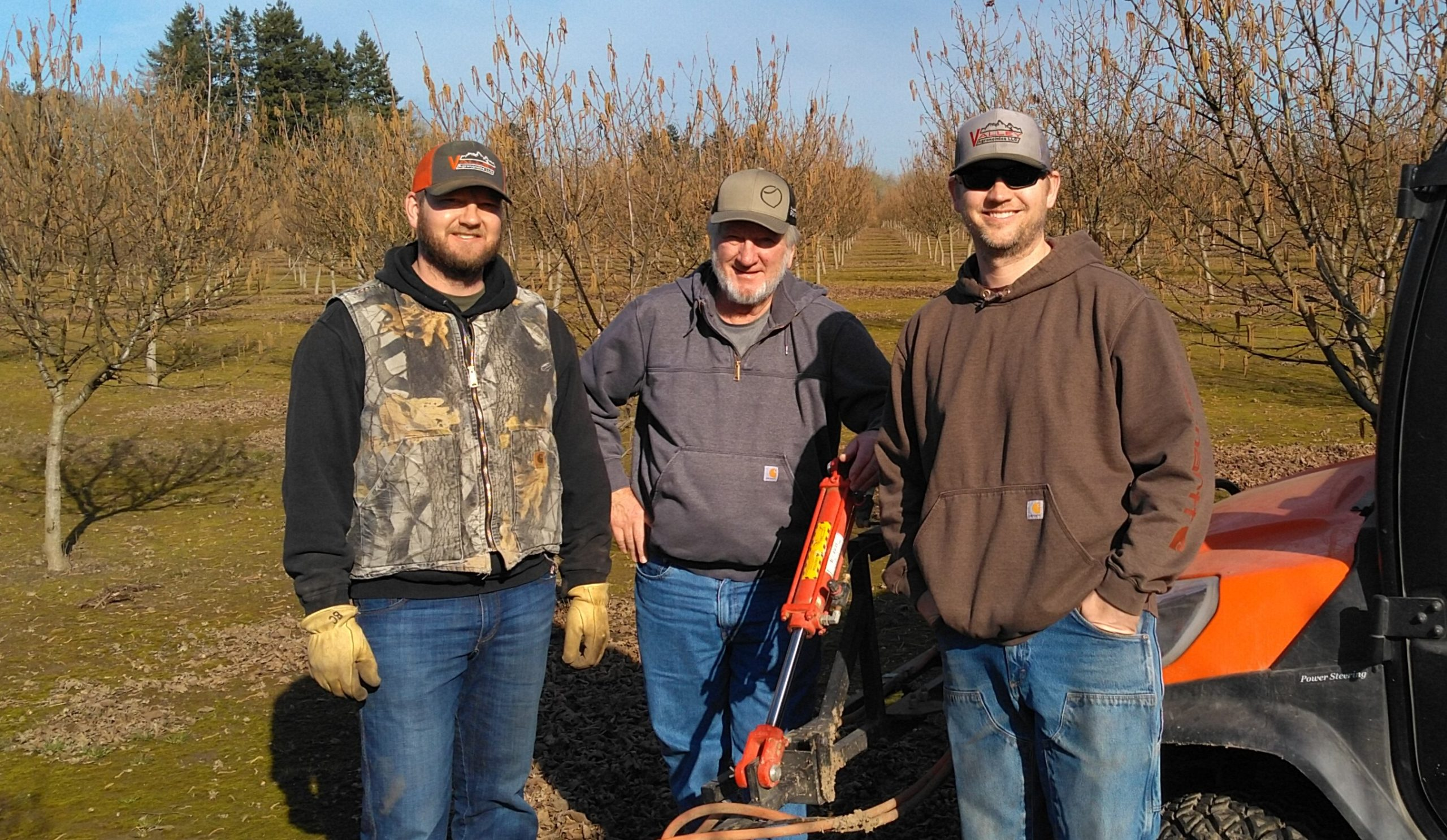Brian, Gary, and Jeff of Cruickshank Farms