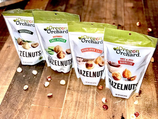 Oregon Orchard Hazelnut Products